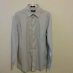 JOHN BARTLETT shirt size 15 1/2...34/35